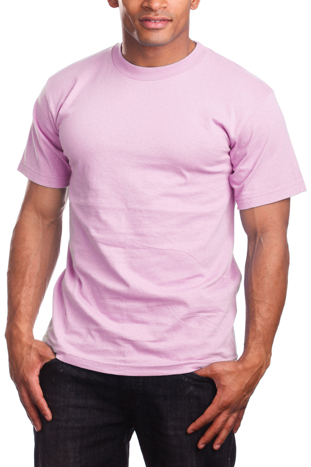 Athletic Fit Pink T-Shirts Activewear Tee Shirts