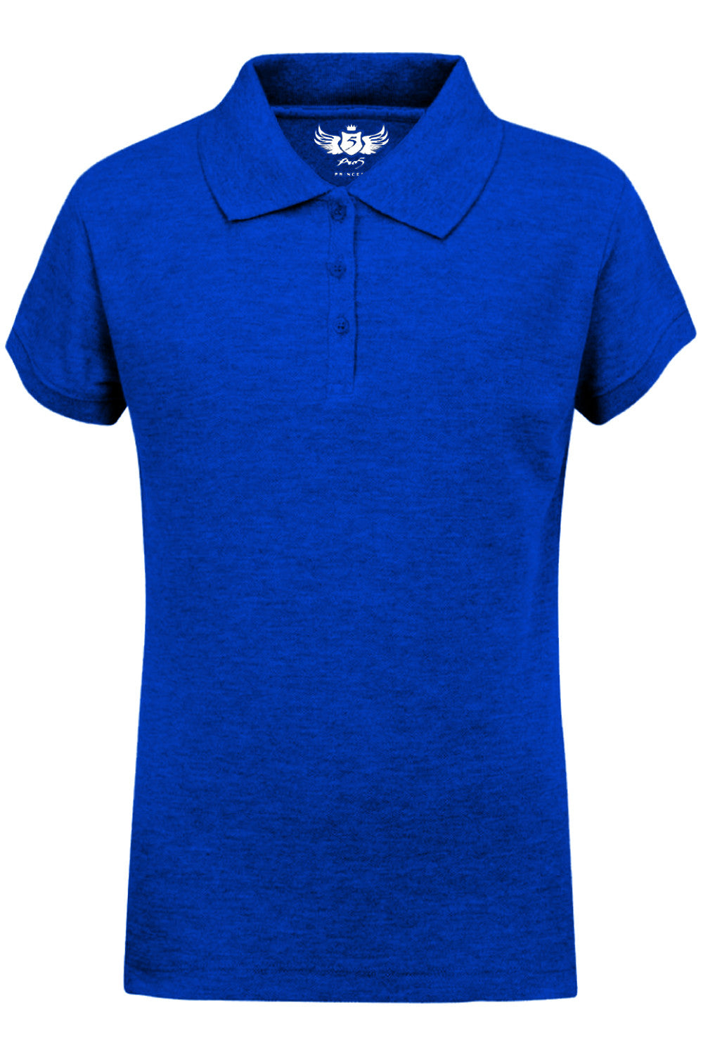 Girls Polo Top Kids School Uniform Royal Blue