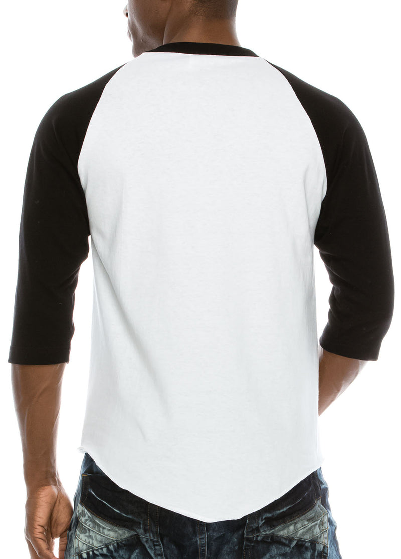 Raglan Sleeve Baseball T-shirt - Pro 5 Apparel