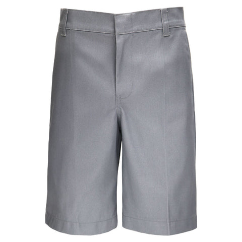 Boys Regular Fit Shorts School Uniform Grey