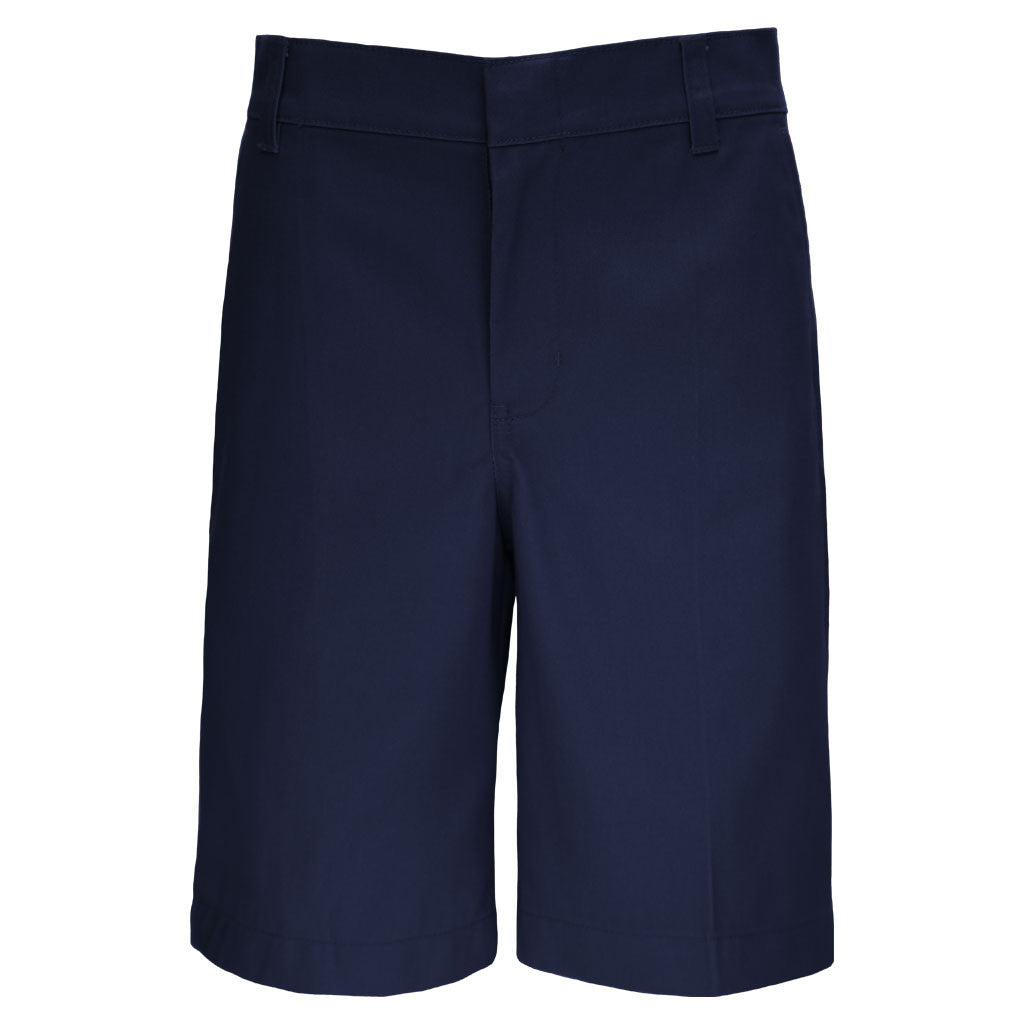 Boys Husky Fit Shorts School Uniform Navy