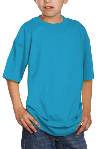 Kids Short Sleeve T-Shirt Turquoise
