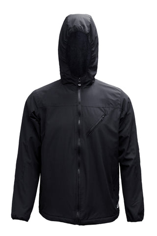 Windbreak Jacket Water Repellent Activewear Outerwear Black