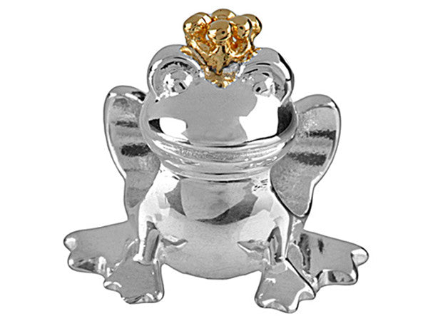 Wildlife - Frog with Gold Crown Charm