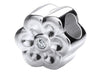 Romance - Flower Charm With Cubic Zirconia
