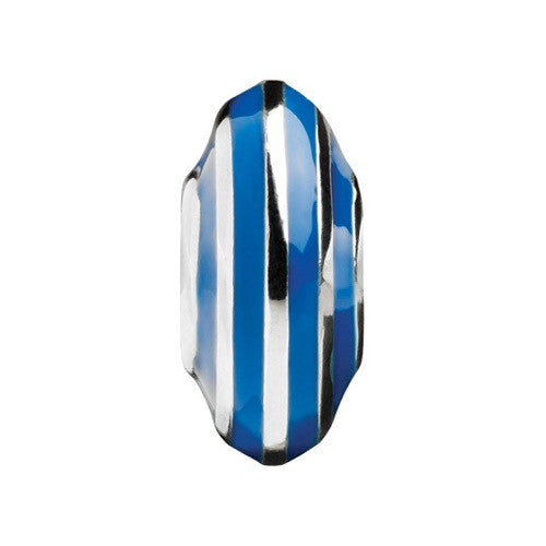 Glitz - Blue Striped Discus Charm
