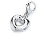 Eternal Open Heart Charm