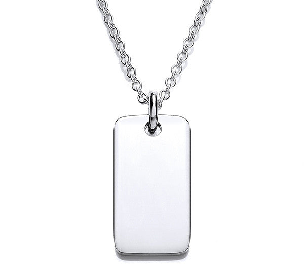 Identity Tag Pendant - Light Weight