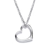 Eternal Classic Heart Pendant With Diamond