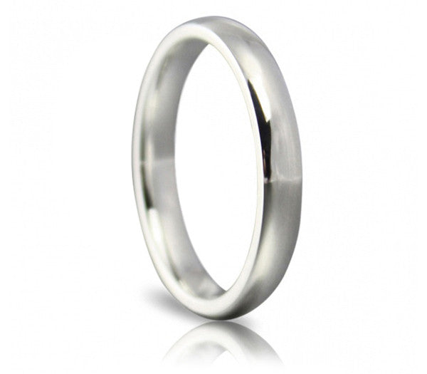 Classic Wedding Ring - 3mm Court