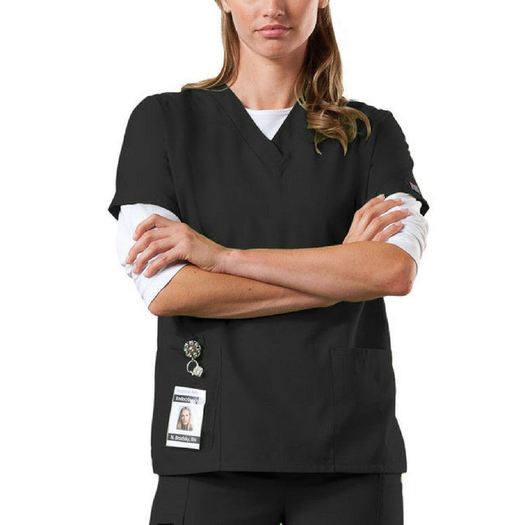 Cherokee Workwear Women's V-Neck Scrub Top