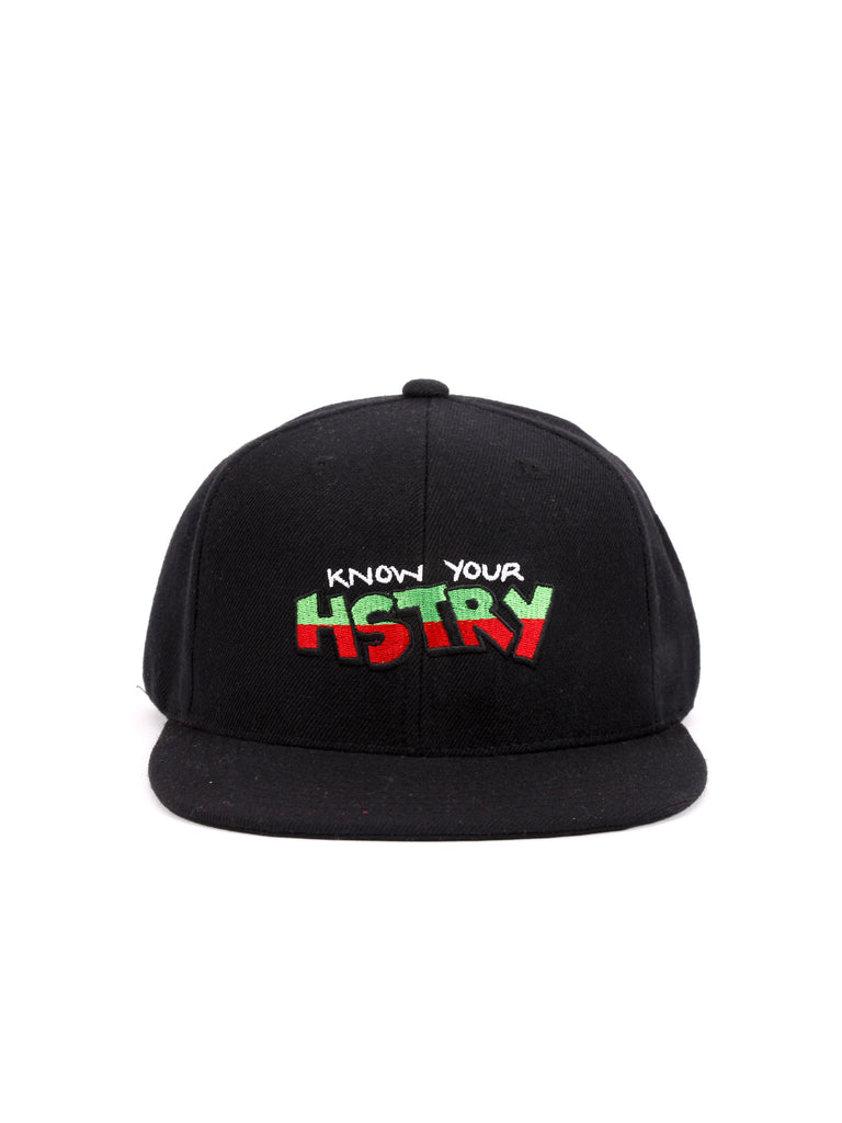 Know Your HSTRY Snapback Hat