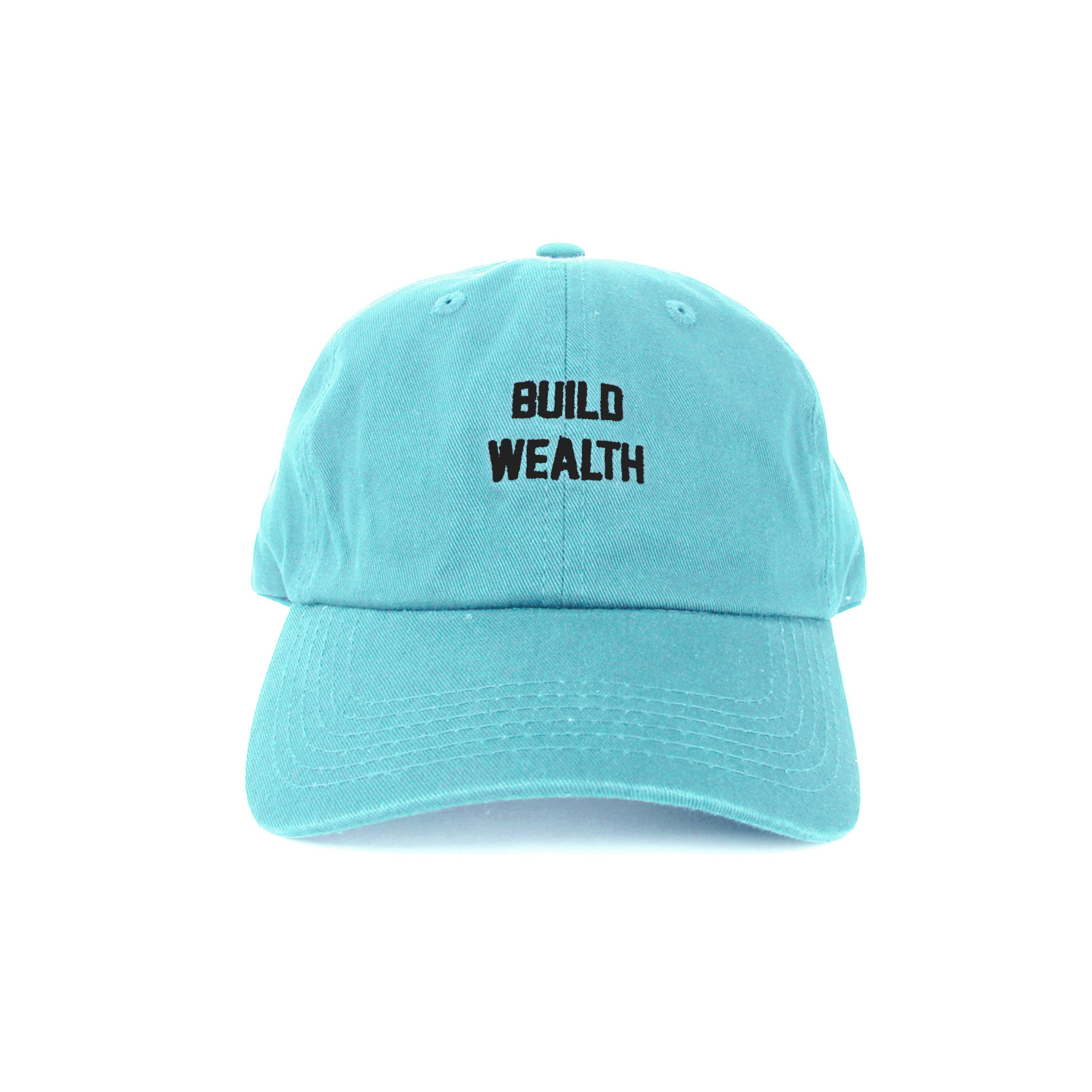Build Wealth Strapback Dad Hat