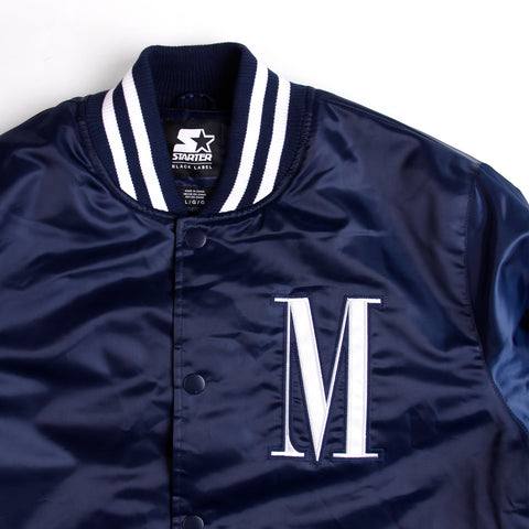 HSTRY x HOUSE OF MANDELA SATIN STARTER JACKET