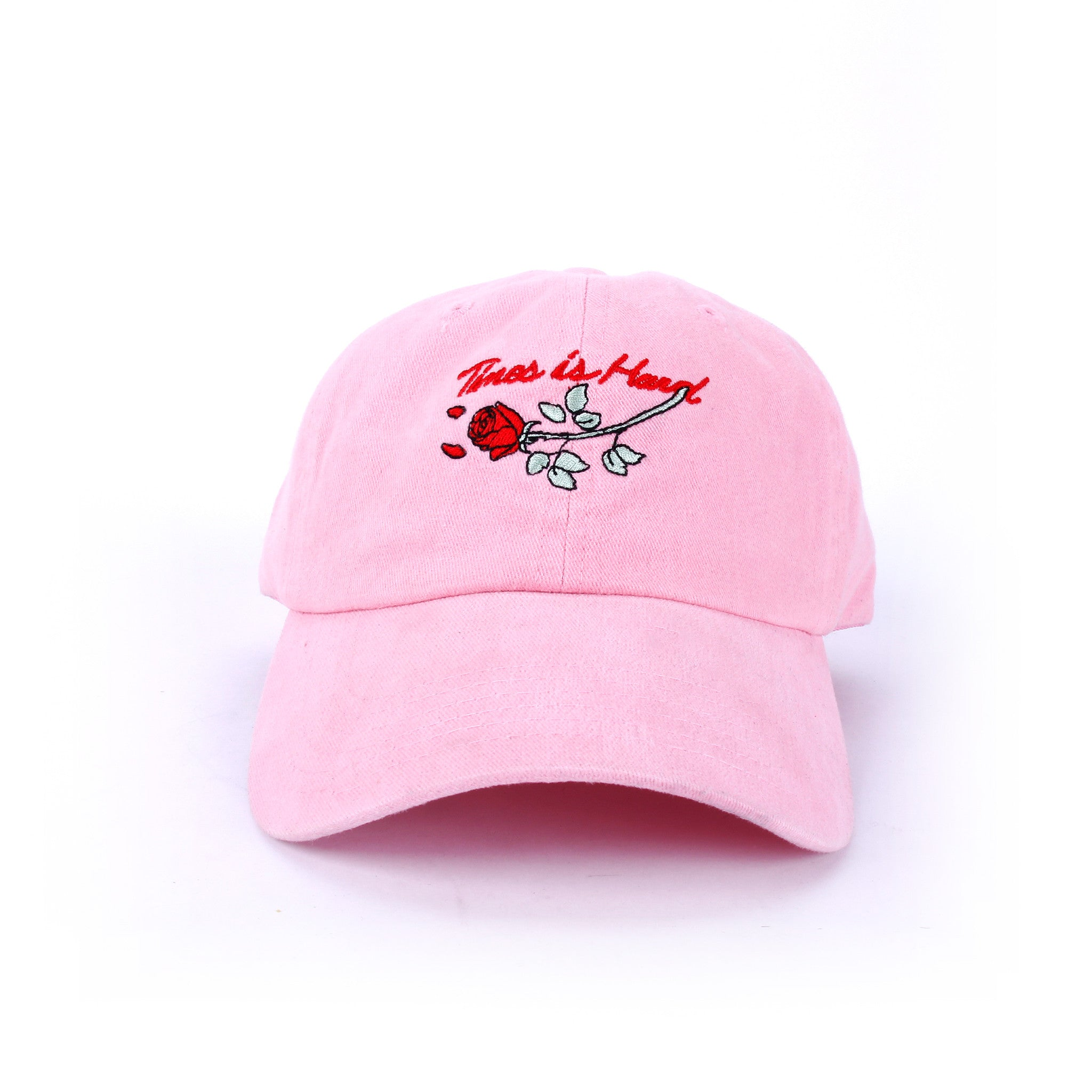 Rose Strapback Hat
