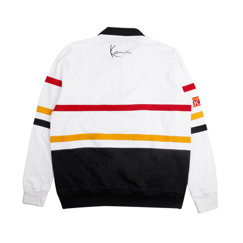 HSTRY x KANI RACE ZIP POLO