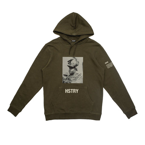 BLACK HSTRY BATTLE HOODIE