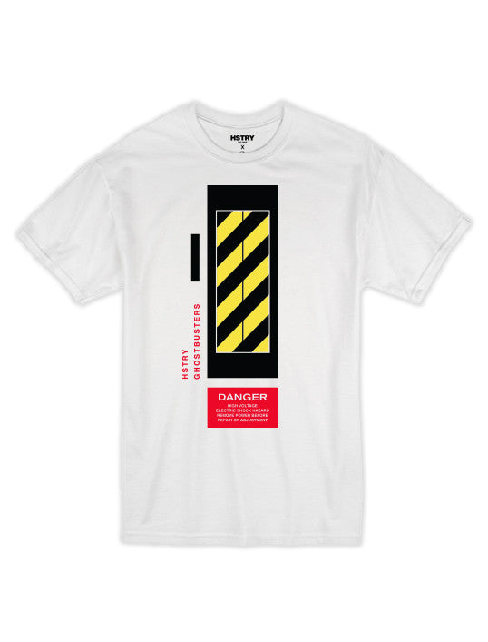 Danger Tee - White
