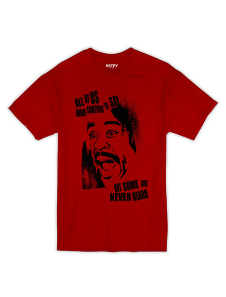 Funny Guy Tee - Red/Black