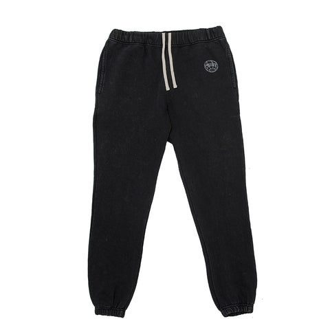 MINERAL WASHED BLACK SWEATPANT