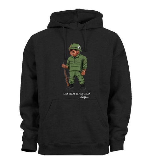 Destroy and Rebuild Hoodie - Black
