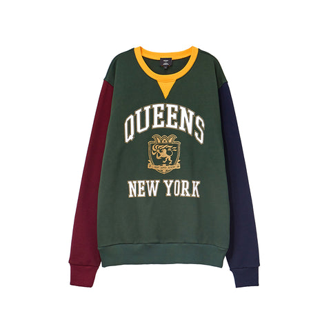 HSTRY x C2A QUEENS COLOR BLOCKED CREW