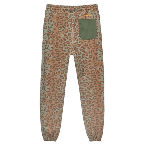 HSTRY x C2A LEOPARD UNITY & PRIDE SWEATPANTS