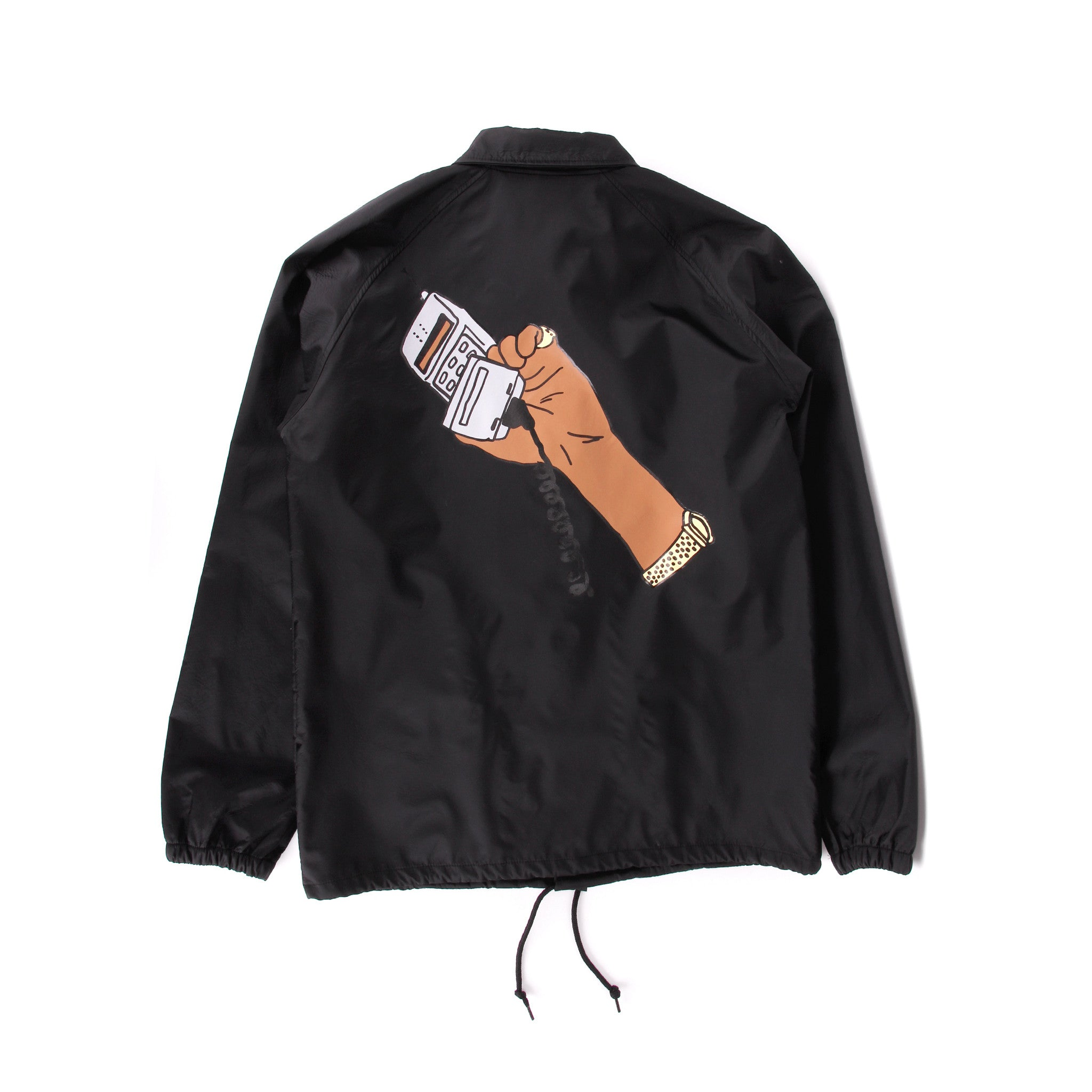 Cell Phone Coach Jacket