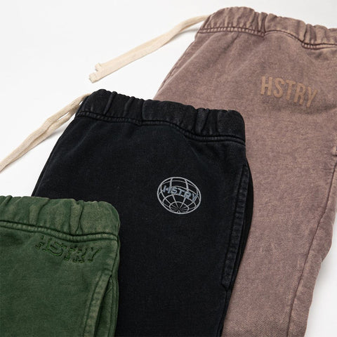 MINERAL WASHED MAUVE SWEATPANT
