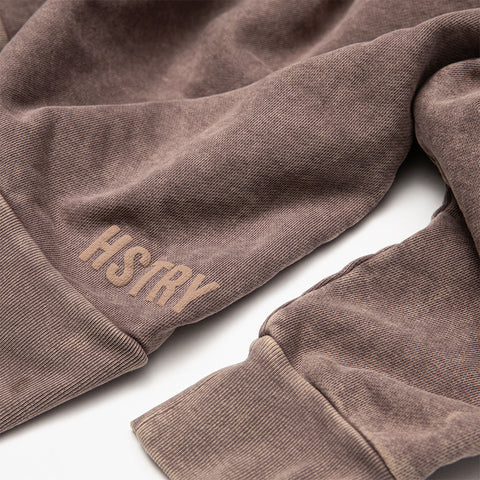 MINERAL WASHED MAUVE SWEATSHIRT