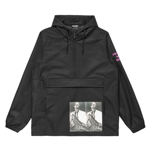 "BLACK HSTRY ""CHANGES"" ANORAK"