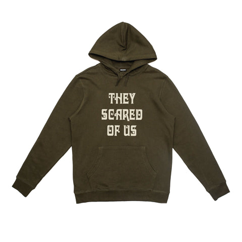BLACK HSTRY SCARED HOODIE