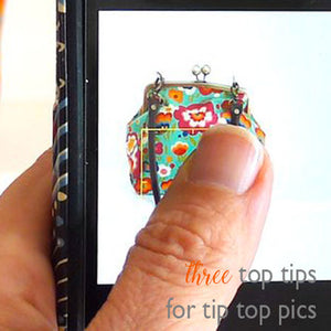 THREE TOP TIPS FOR TIP TOP PICS