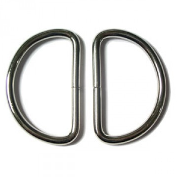 "1 1/2"" D Rings 2pk - 2 colours"