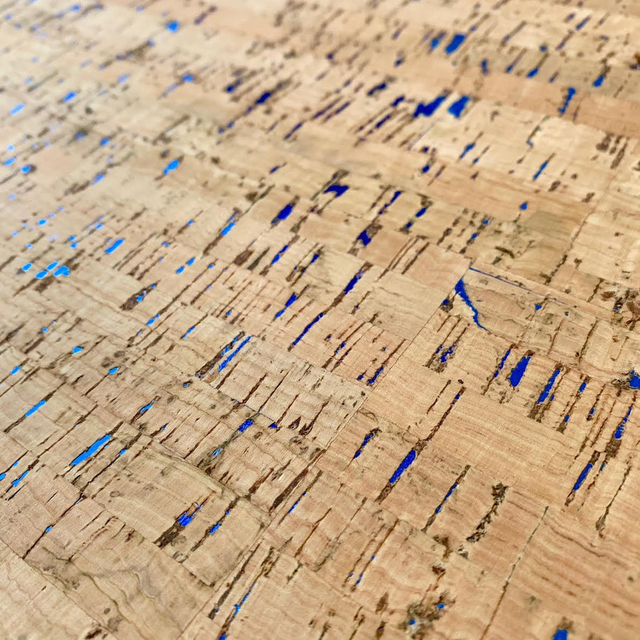 Touch PRO Natural with Blue Fleck Cork Fabric