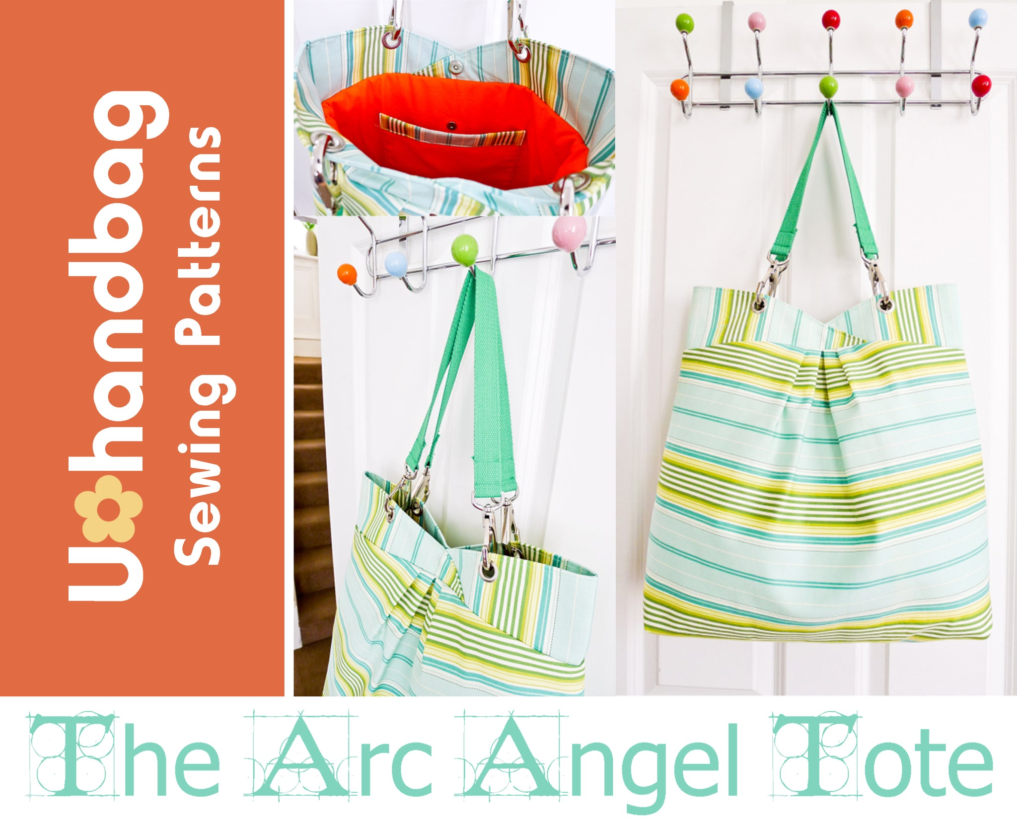 The Arc Angel Tote Pattern Booklet
