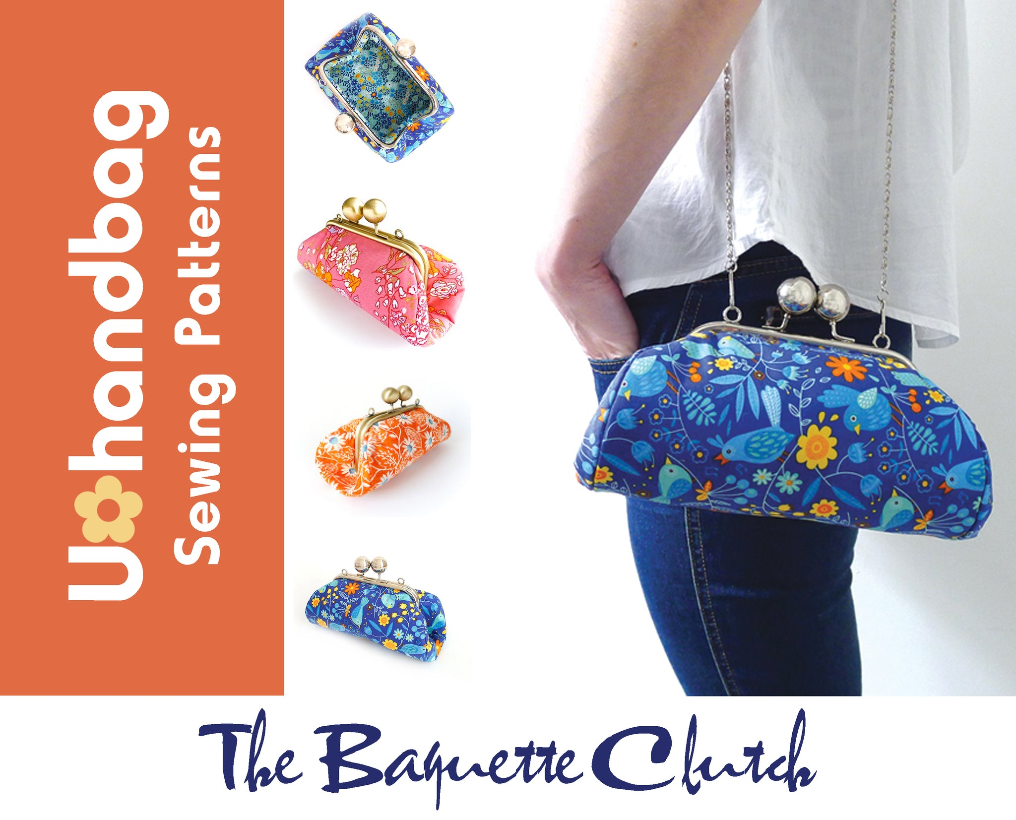 The Baguette Clutch Pattern Booklet