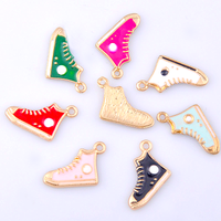 7 Pack Baseball Boot Charms in 7 Colours (with lobster clips)