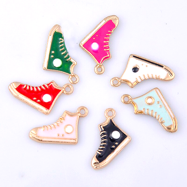 PREORDER - 7 Pack Baseball Boot Charms in 7 Colours (with lobster clips)