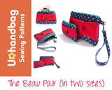 Beau Pair Purses (in 2 sizes) Pattern Booklet