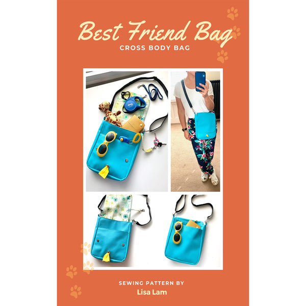 Best Friend Bag PDF Instant Download Pattern