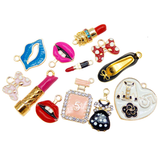 PREORDER - 12 Pack Designer Chic Charms (with lobster clips)