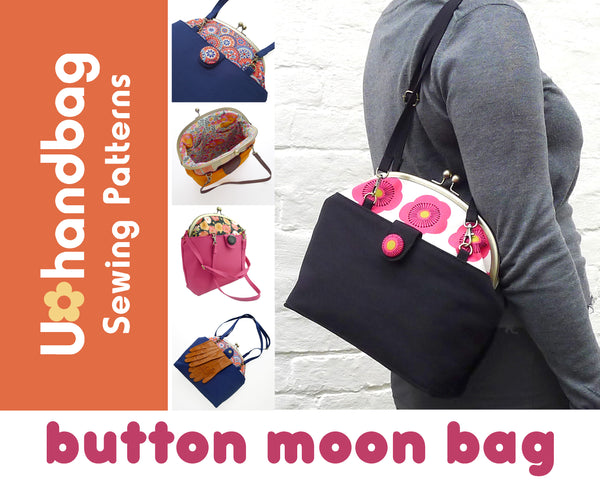Button Moon Bag Pattern Booklet