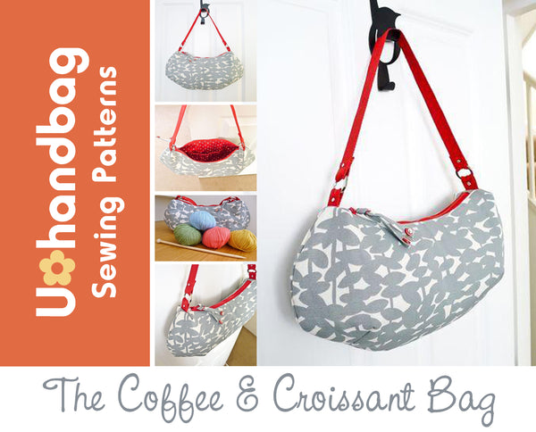 The Coffee & Croissant Bag Pattern Booklet