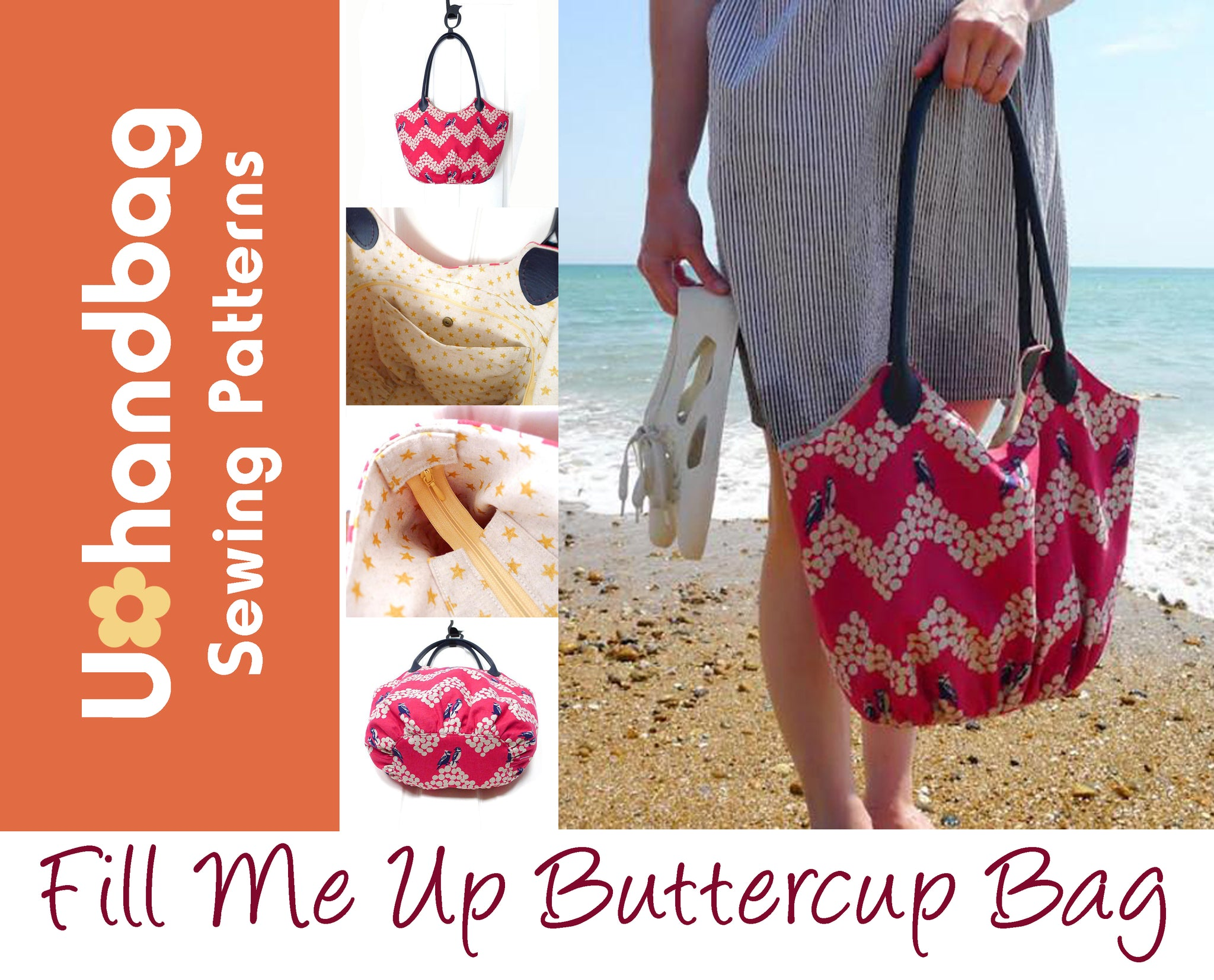 Fill Me Up Buttercup Bag Pattern Booklet