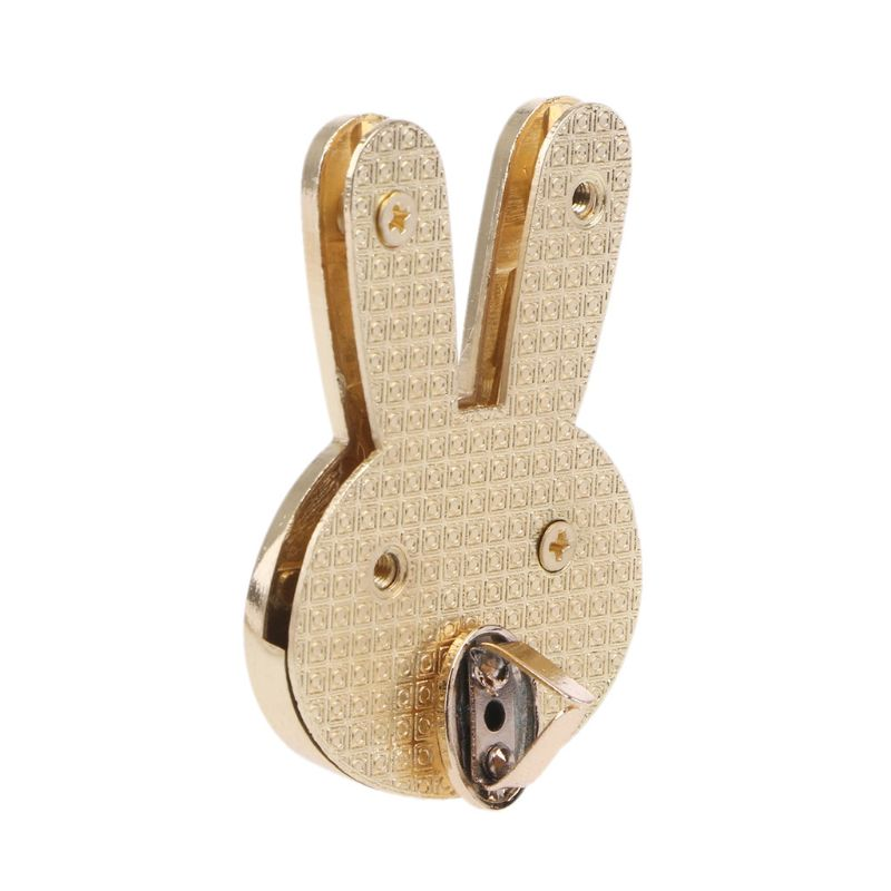 Limited Edition : Pale Gold Bunny Twist Turn Lock