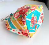 Kyoko Frilled Pouch Making Kit - made to order (please allow 2 days)