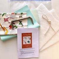 Easy Peasy Purse 2 Purse Making Kit with Fabrics - Lush Mint PU. LTD EDITION