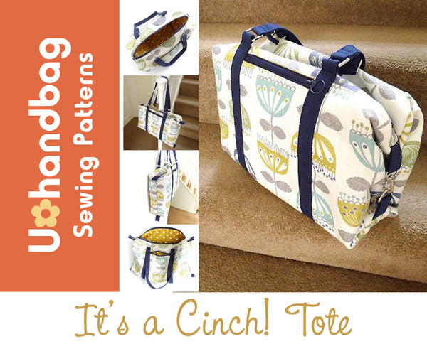 It's A Cinch Tote Pattern Booklet