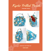 Kyoko Frilled Pouch Pattern Booklet
